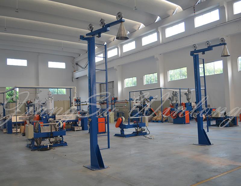 建筑布线和安防线缆押出生产线